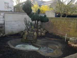 Garden tidied.