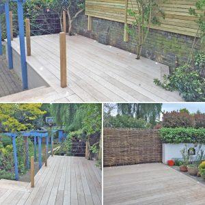 garden decking installation kingston upon thames.
